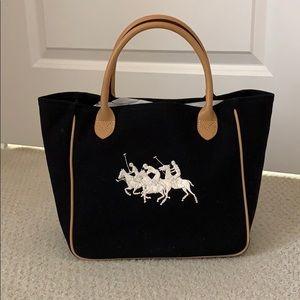 Ralph Lauren canvas purse